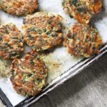 Cheesy Spinach Munchy Cakes