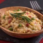 Orzo Pasta with Spring Peas