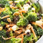 Cool Summer Broccoli Salad