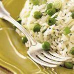 Lemon Jasmine Rice with Spring Peas