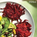 Beet and Carrot Latkes