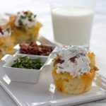 Baked Potato Cupcakes